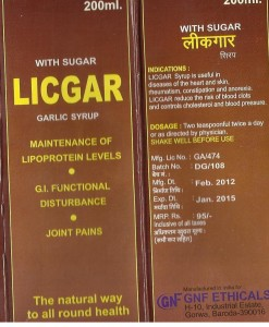 LICGAR Syrup